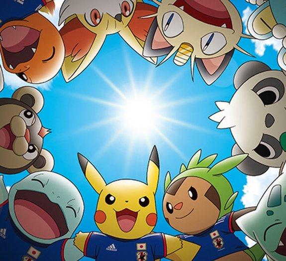 Pokémon e Adidas se unem para apoiar seleção japonesa na Copa