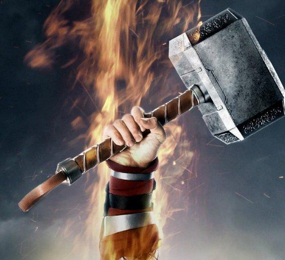 O que aconteceria se o martelo de Thor fosse o mais pesado que já existiu