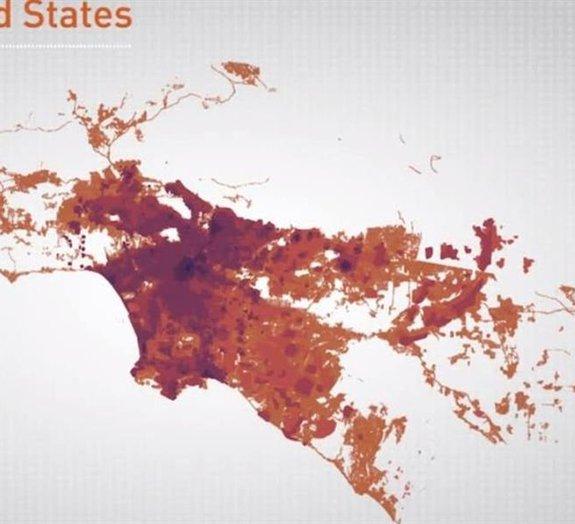 Veja como São Paulo, Paris e Los Angeles cresceram ao longo dos séculos