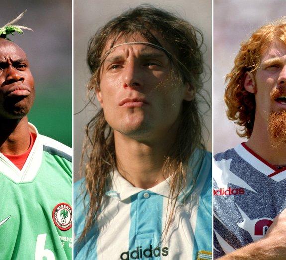 Barba, cabelo e bigode: veja os visuais mais inusitados das últimas Copas