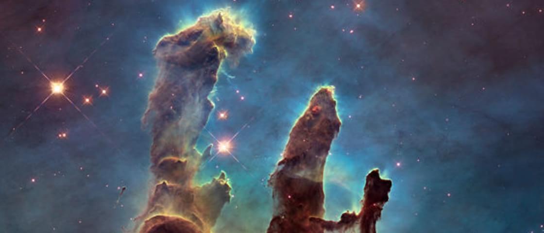 Segundo a NASA, os Pilares da Criação já não existem mais