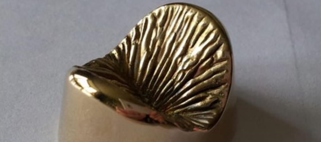 Já pensou em imortalizar o seu ânus através de uma escultura de bronze?