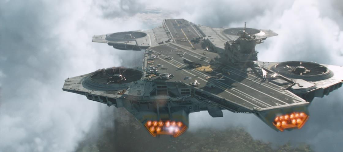 Helicarrier, o lançador de aviões dos Vingadores, será lançado pela LEGO