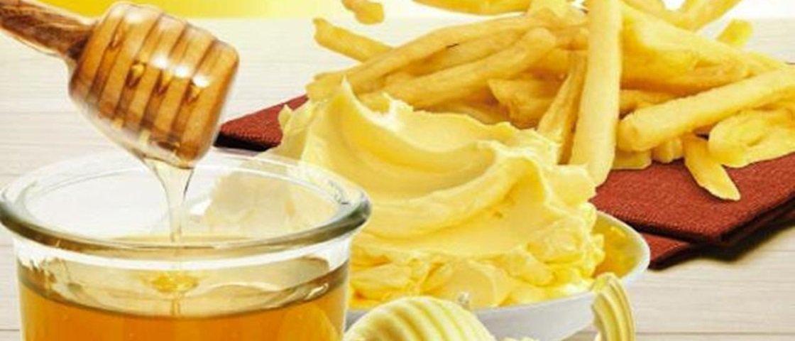 McDonald's da Coreia do Sul começa a vender batata frita com manteiga e mel
