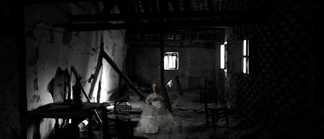 Mistério: fantasma de menina aparece em foto no rio