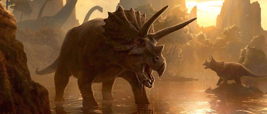 Saiba mais sobre o triceratope, o famoso dinossauro de três chifres