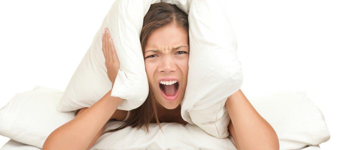 Você pode estar ganhando peso por causa dos barulhos que ouve todos os dias