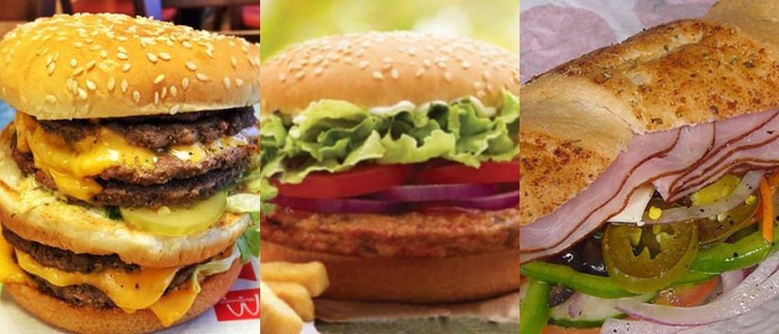 Conheça alguns dos sanduíches 'secretos' do McDonalds, Burger King e Subway