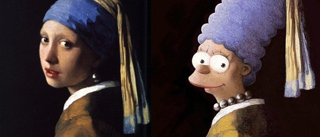6 personagens da cultura pop inseridos em pinturas clássicas