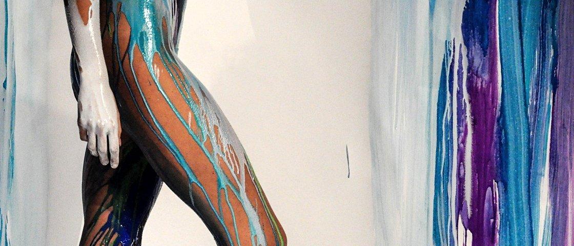 20 belas pinturas corporais para deixar o seu dia mais colorido