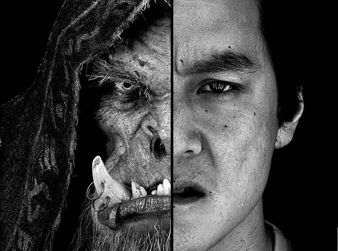 Pôsteres do filme Warcraft mostram transformação dos atores