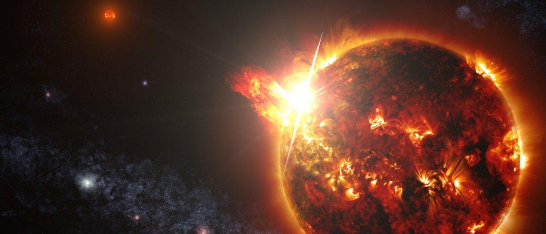 """Estrelas em fase """"terminal"""" podem converter planetas gelados em habitáveis"""