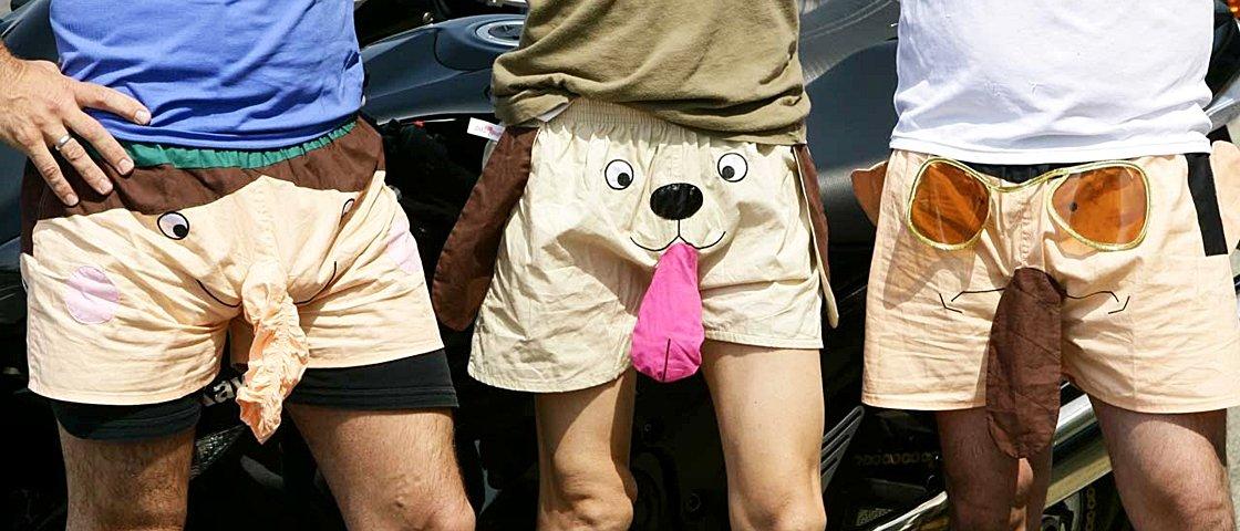 Confira 13 roupas íntimas hilárias que são o maior tesão