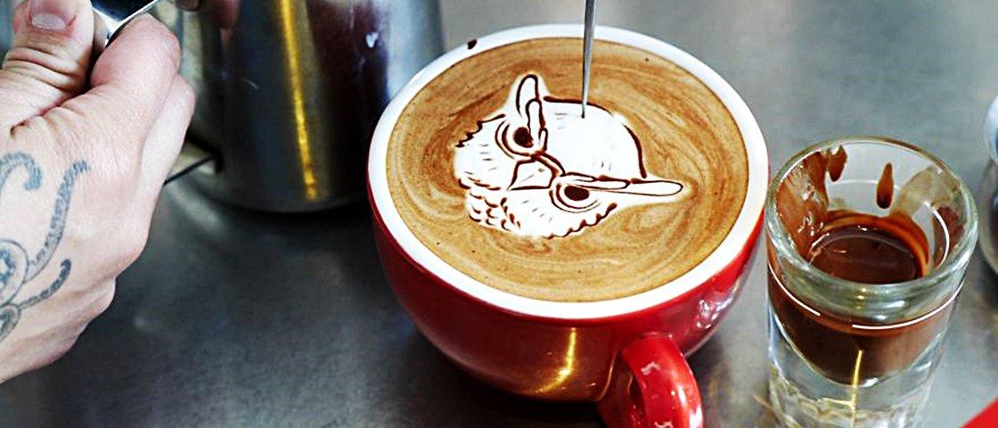 9 vezes em que xícaras de café se tornaram verdadeiras obras de arte