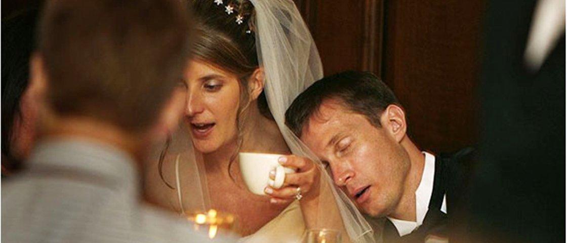 15 fotos de casamento constrangedoras tiradas na hora certa