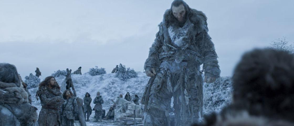 Qual a altura do ator que faz o gigante Wun Wun em 'Game of Thrones'?