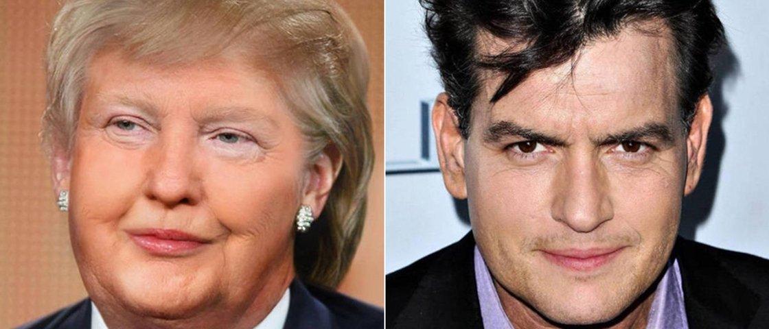 Veja 15 casos de combinação de rostos de famosos