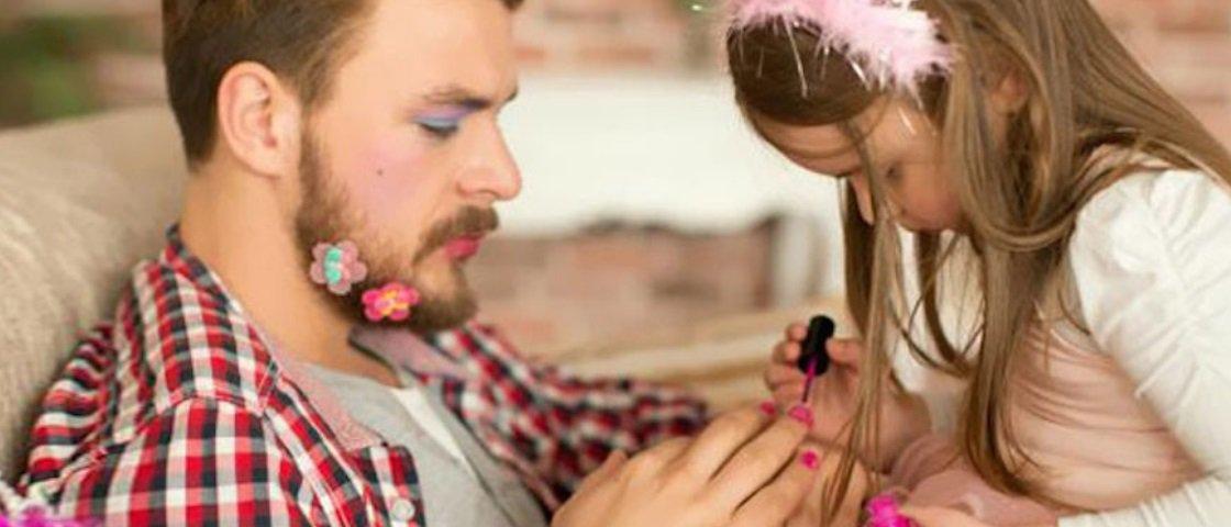 15 pais maravilhosos que fazem de tudo para agradar suas filhas