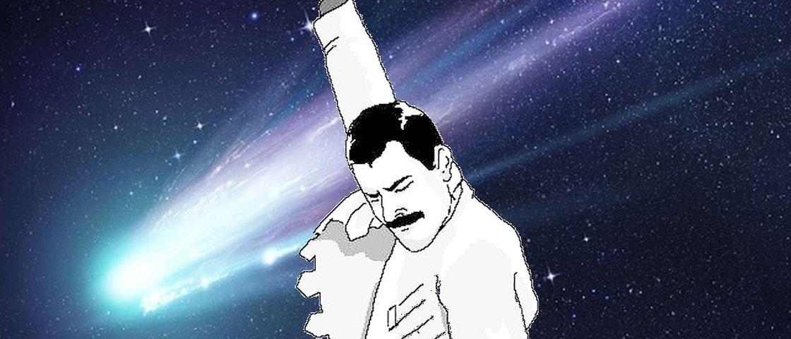 No dia que faria 70 anos, Freddie Mercury vira nome de asteroide