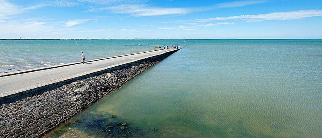 Esta estrada na França é engolida pelas águas do mar todos os dias