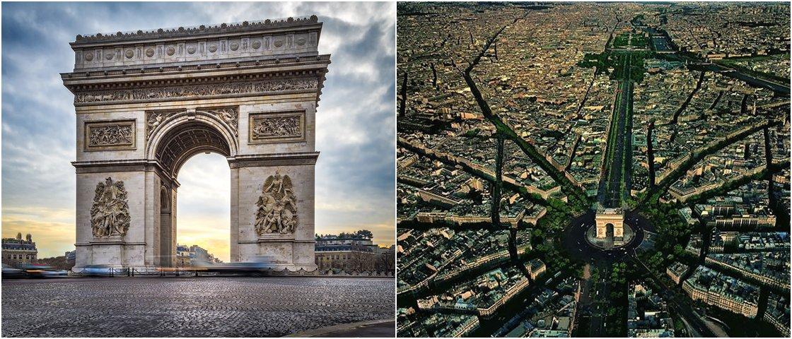 Estas 12 imagens vão mudar sua percepção sobre os cartões-postais do mundo