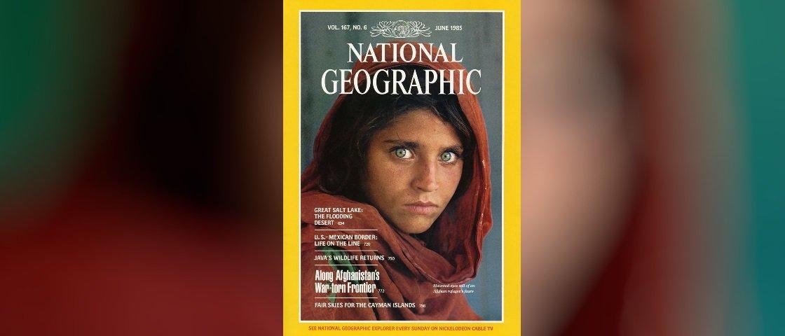 Protagonista de uma das capas mais icônicas da National Gegraphic foi presa