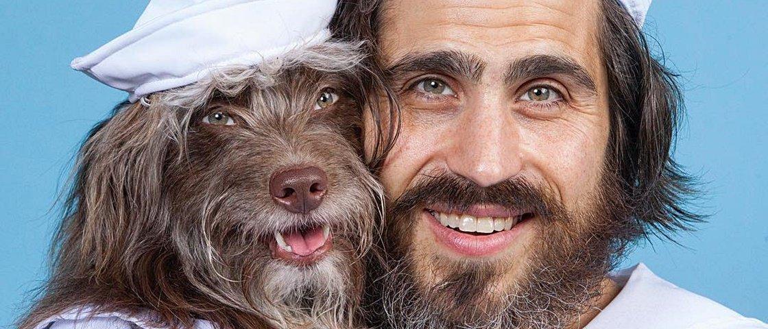 Melhores fotos: este cara e seu cão formam uma dupla perfeita