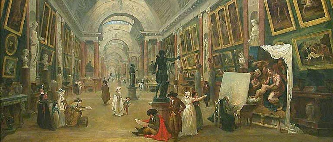 9 obras bizarras que estão expostas no museu do Louvre
