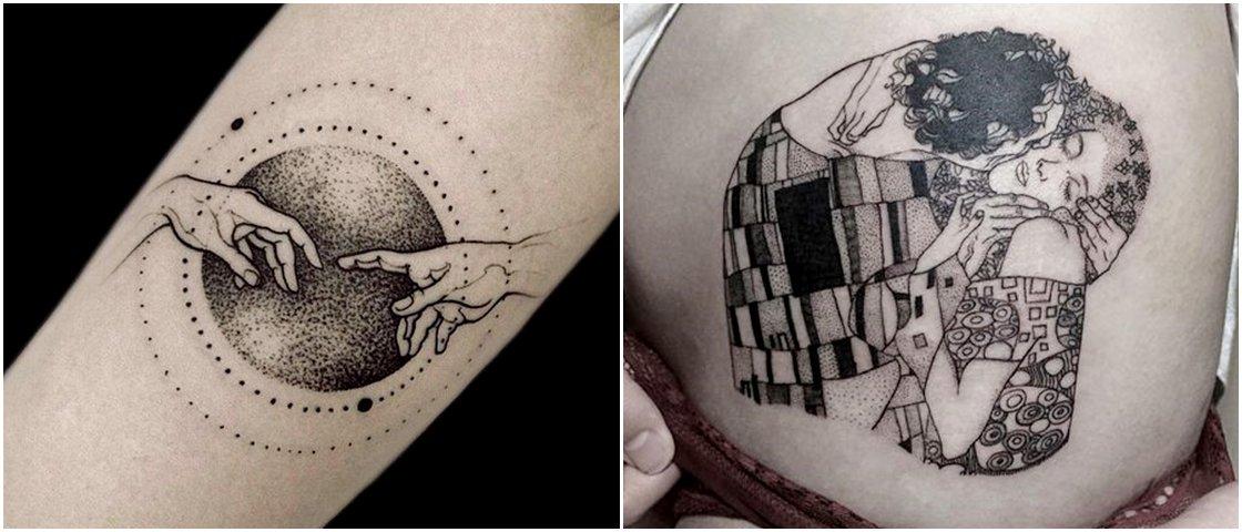 11 tatuagens inspiradas em obras de arte famosas