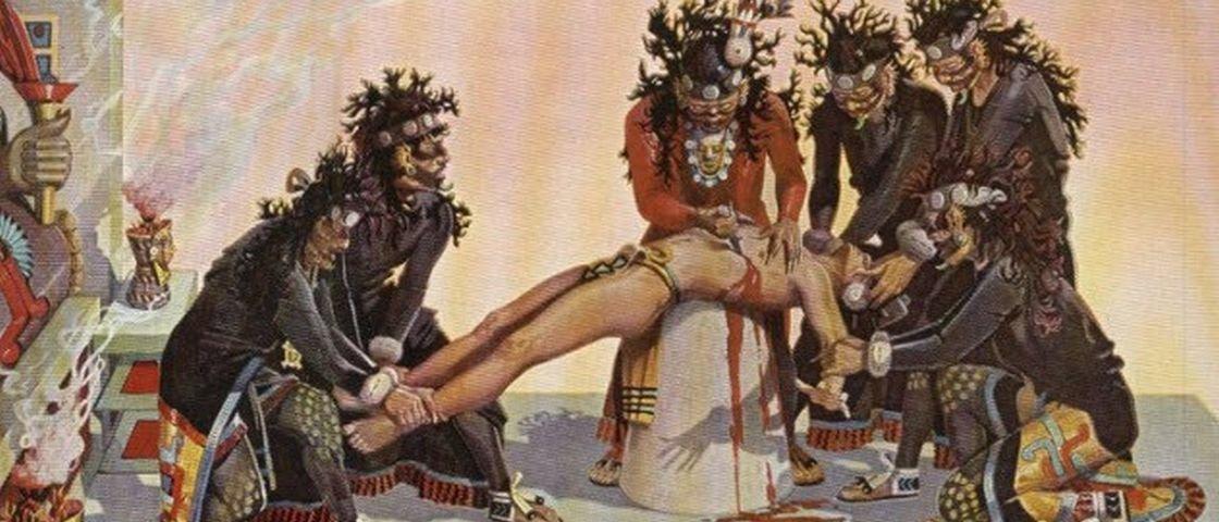10 curiosidades sobre os terríveis sacrifícios humanos dos astecas