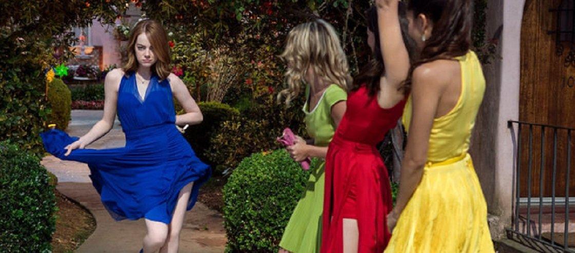 Cena de La La Land que presta homenagem a Charity, Meu Amor. Fonte da imagem: Divulgação/Lionsgate