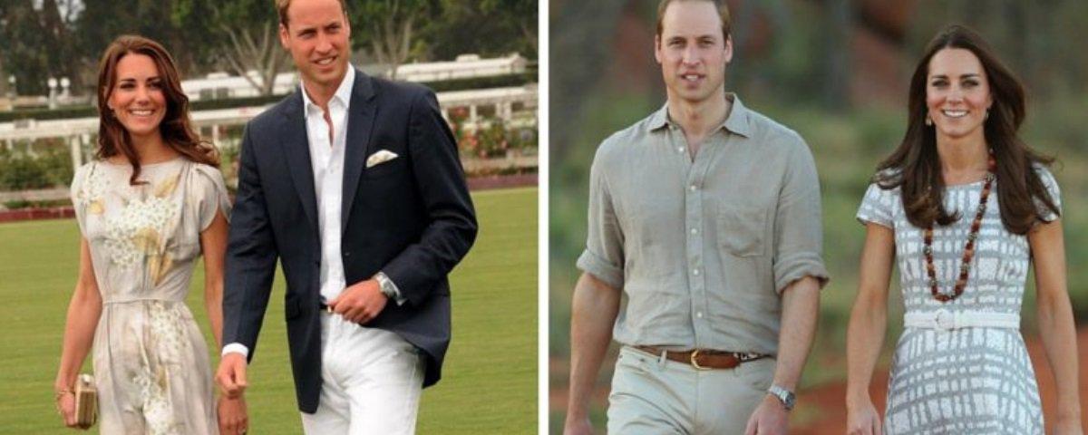 Por que Príncipe William e Kate nunca ficam de mãos dadas em público?