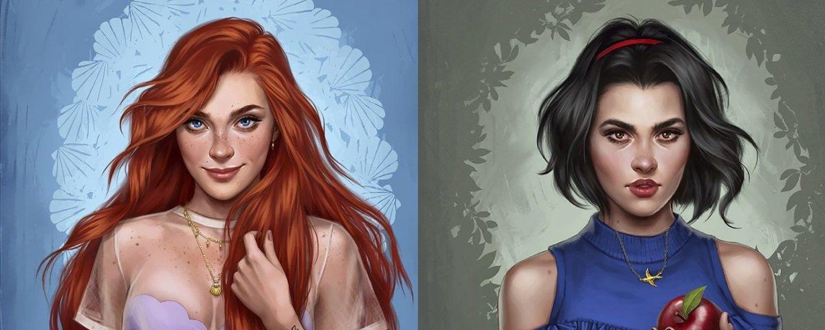 E se Princesas da Disney fossem moças como as de hoje em dia?