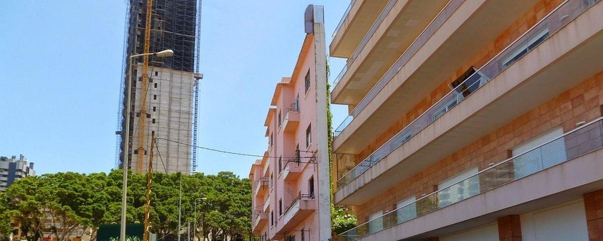 Prédio mais estreito do Líbano foi construído apenas por pirraça