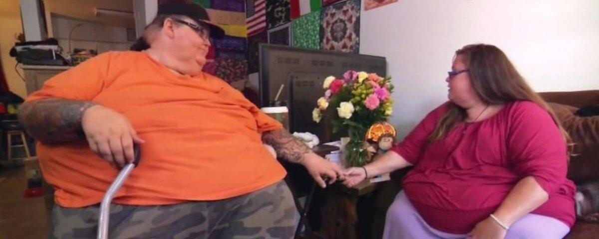 Casal de obesos mórbidos teve que perder peso para conseguir fazer sexo