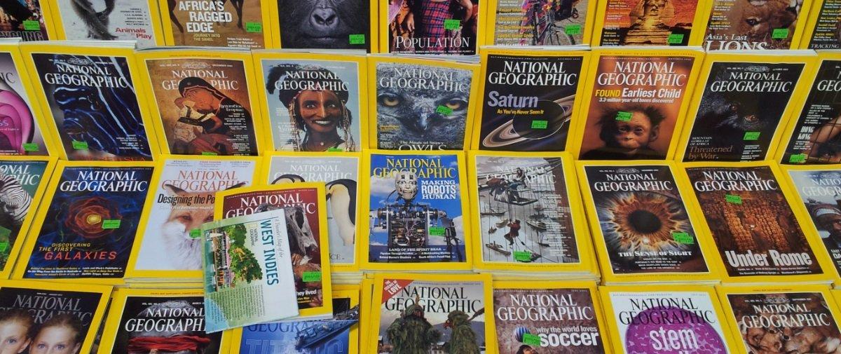 Veja as capas da National Geographic dos últimos 130 anos em 2 minutos