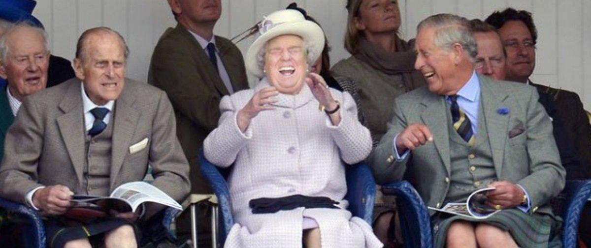Colaram a cara de Trump sobre a da Rainha Elizabeth e o resultado é hilário