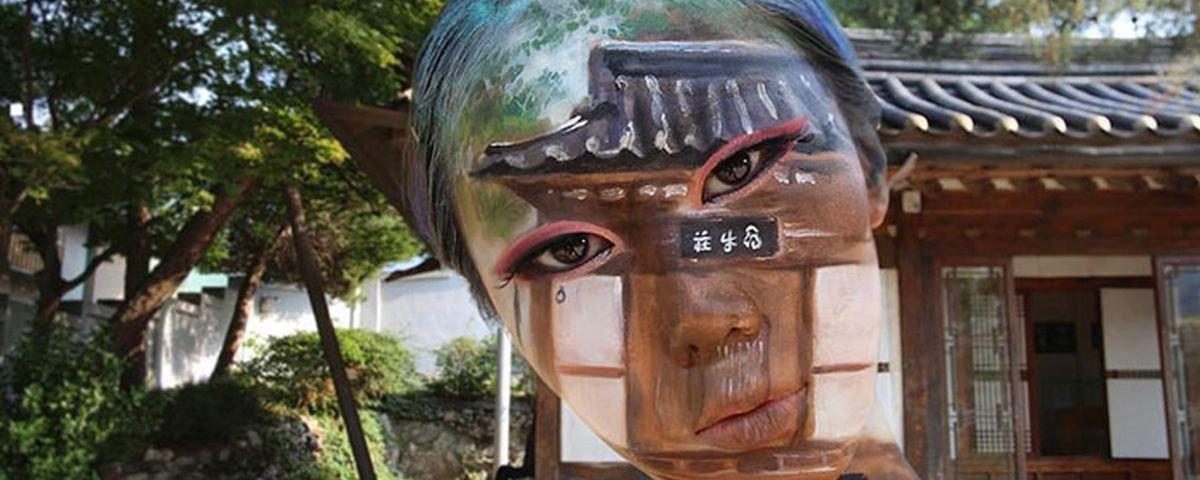 As maquiagens psicodélicas desta coreana vão embaralhar sua visão