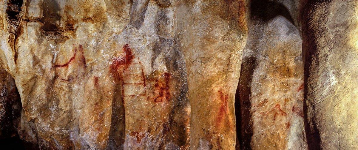 Cientistas acreditam que estas pinturas rupestres não são obras de humanos