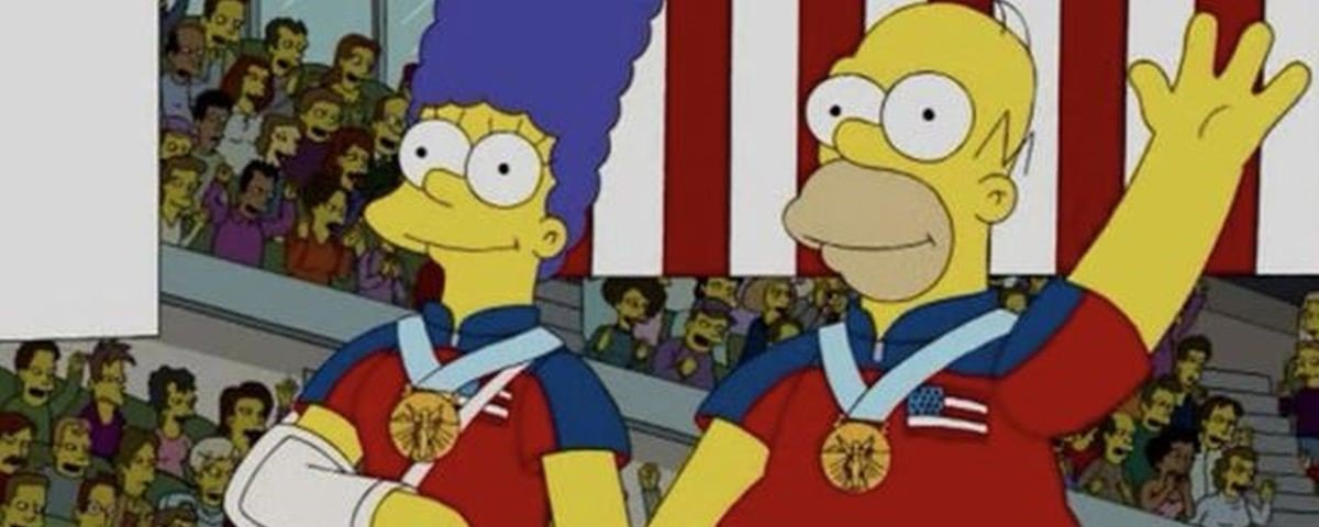 """De novo: agora """"Os Simpsons"""" previu a medalha de ouro dos EUA no curling"""