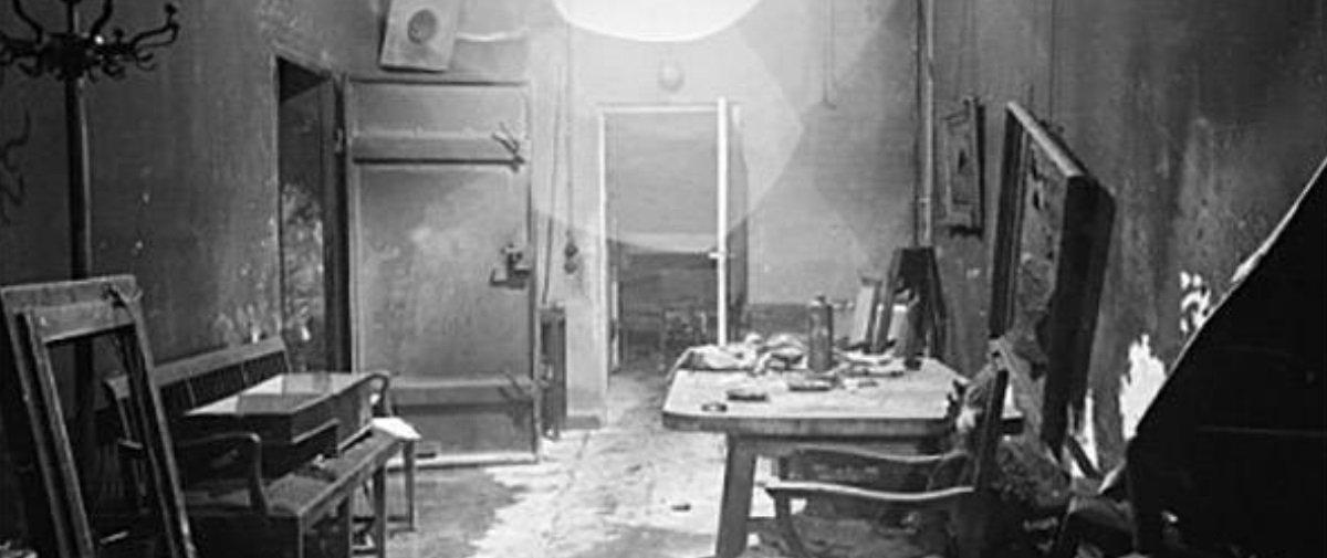 Confira 9 imagens que mostram o interior do bunker de Hitler