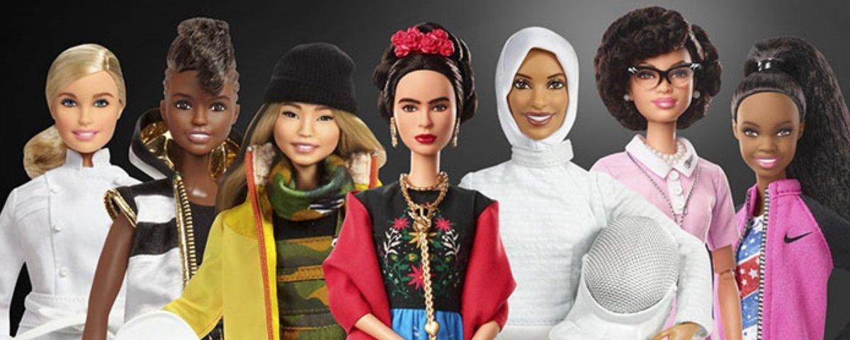 Novas Barbies homenageiam mulheres incríveis da História do mundo