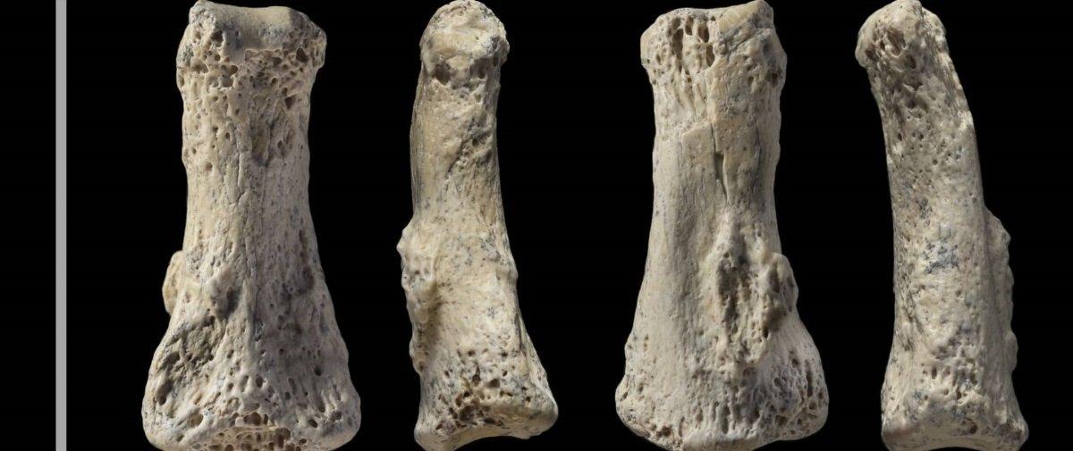 Dedo de quase 90 mil anos é achado em um local onde ele não deveria estar