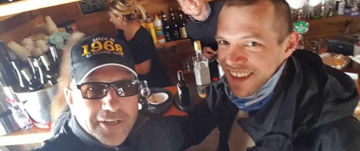 Manguaça: turista bêbado escala montanha nos Alpes tentando encontrar hotel