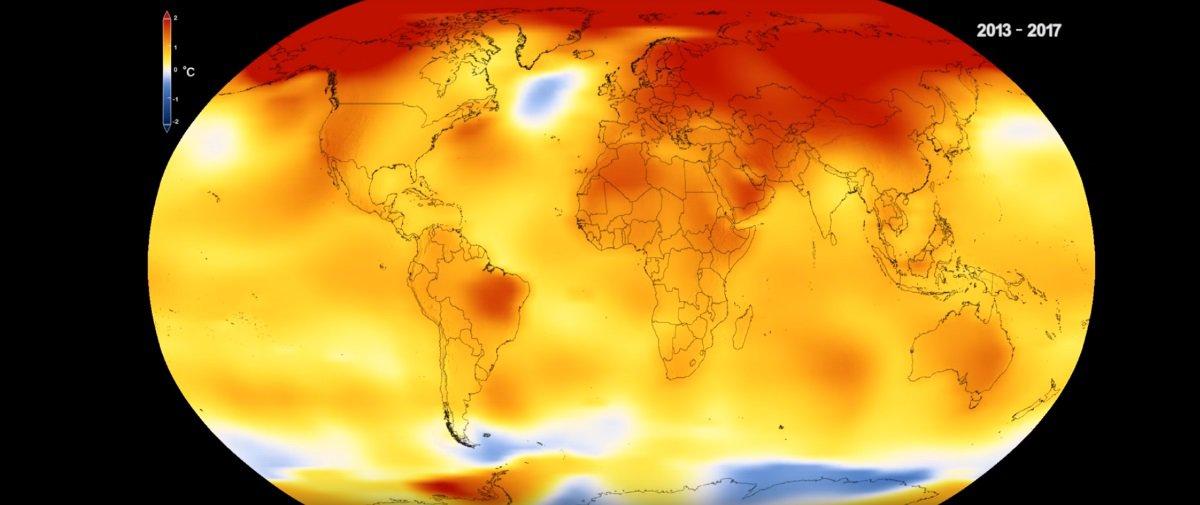Assustador: veja quanto as temperaturas da Terra subiram em 140 anos