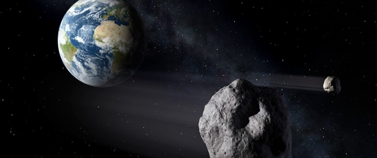 Você ficou sabendo do asteroide que passou pertinho da Terra no sábado?