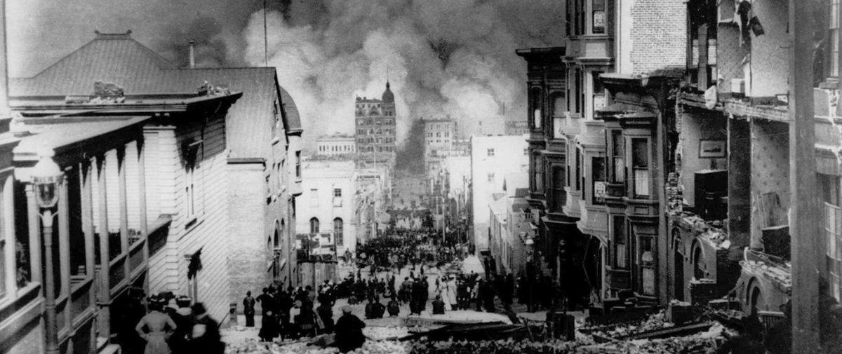 Há 112 anos um terremoto destruiu San Francisco — veja fotos da tragédia