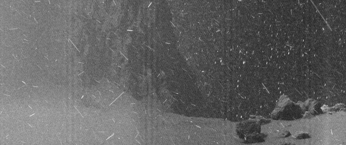 Incrível! Sonda espacial registrou chuva de raios cósmicos e gelo em cometa