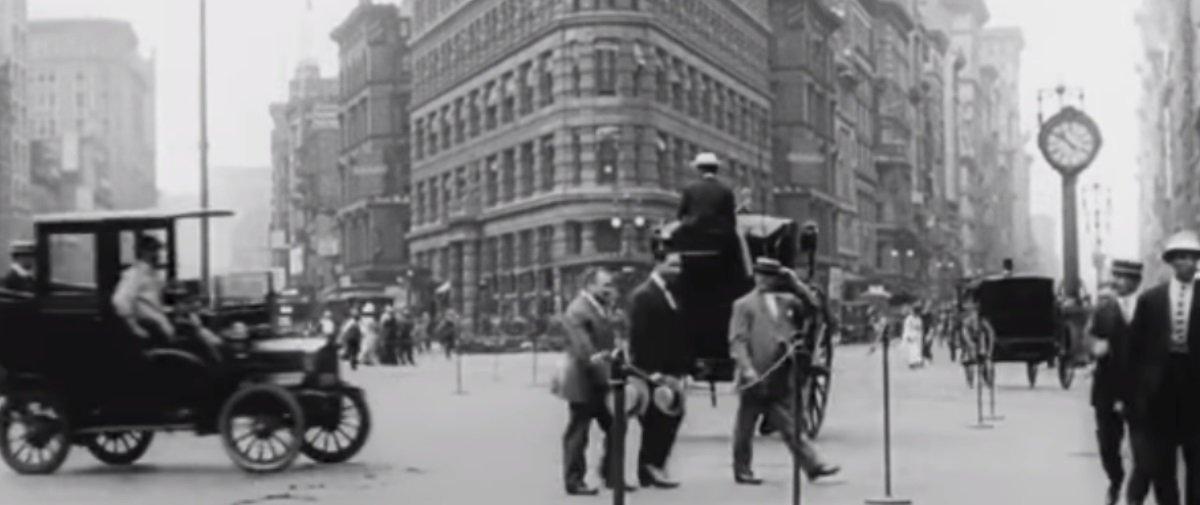 Estas cenas incríveis mostram como era a Nova York no início do século 20