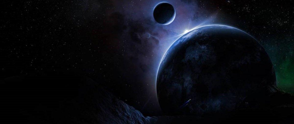 Acharam um planeta tão escuro, mas tão escuro, que ninguém sabe como ele é